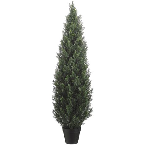 5 foot artificial outdoor cedar tree potted 5ftced st