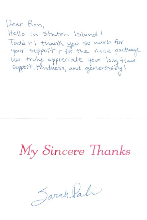 Thank You Letter Card thank you card sle nursing thank you letter