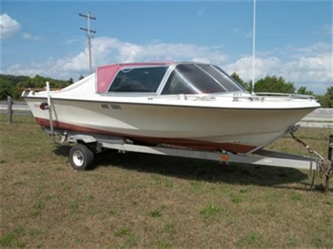 1975 aristocraft nineteen 19ft. boat w trailer northern