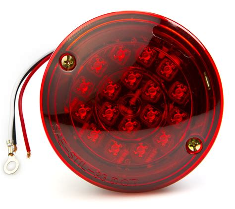Led Trailer Light Bulbs Led Trailer Light W License Plate Light 4 Led Brake Turn Light W 23 High Flux
