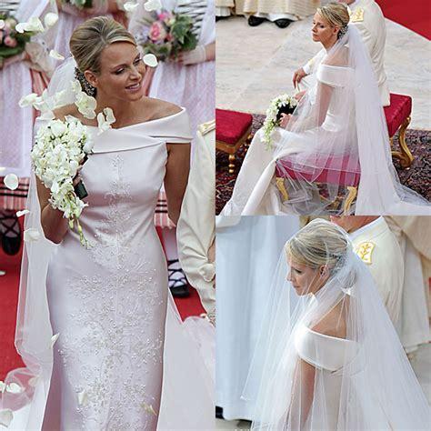 hochzeitskleid charlene von monaco monaco royal wedding charlene wittstock prince albert