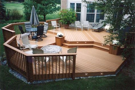 backyard patios and decks custom design group home