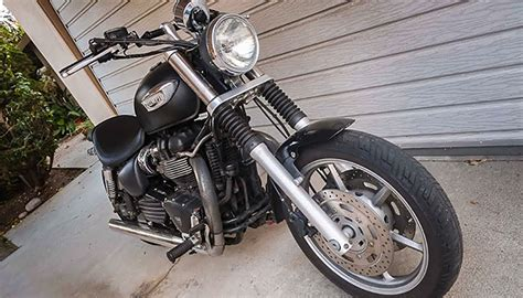 Triumph Motorrad Customizing by Customizing A Triumph Speedmaster How Could It Be