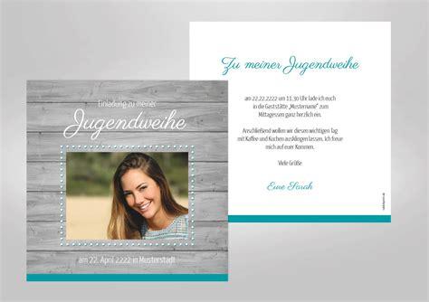 Einladungen Selbst Gestalten by Einladungskarten Einladungskarten Jugendweihe