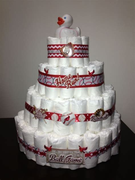 24 best images about Lisa's Cardinals Themed Baby Shower