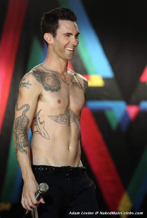 nakedmalecelebs com adam levine photos