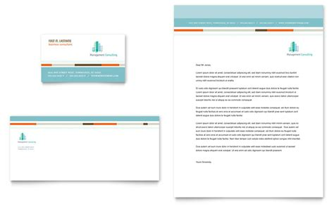 business consulting template management consulting business card letterhead template