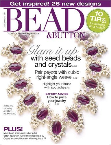 bead and button magazine buttons and magazines on