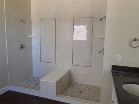 sierra ridge double shower emser paladino polished