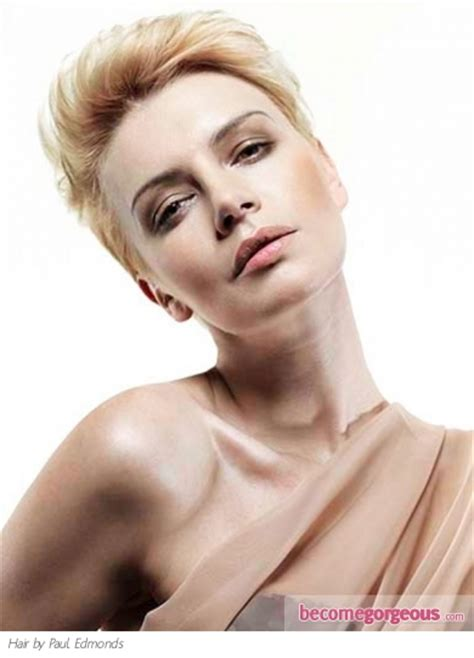 become gorgeous short hair gallery pictures pictures short hairstyles super short glam hair style