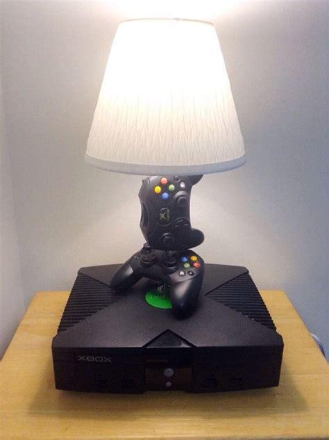 microsoft original xbox desk lamp light sculpture therons game room purchased habitacion