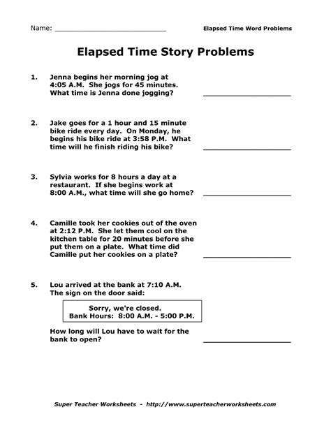 15 best images of 3rd grade elapsed time word problems