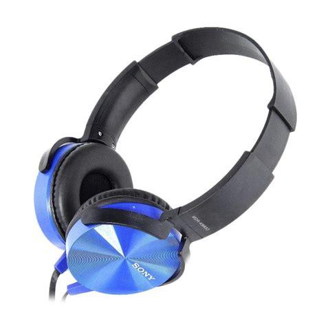Headphone Sony Mdr Xb450ap jual headphone sony mdr xb450ap biru harga kualitas terjamin blibli