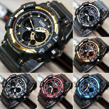New Jam Tangan Wanita Guess Rubber Lv Mk Daniel Wellington Olahraga Sp jual jam tangan new g shock gwa1100a harga murah