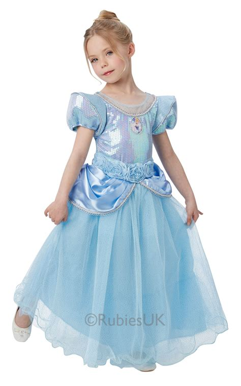 disney premium cinderella fancy dress princess