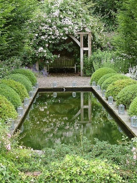 schöne hinterhof pools garten teich design