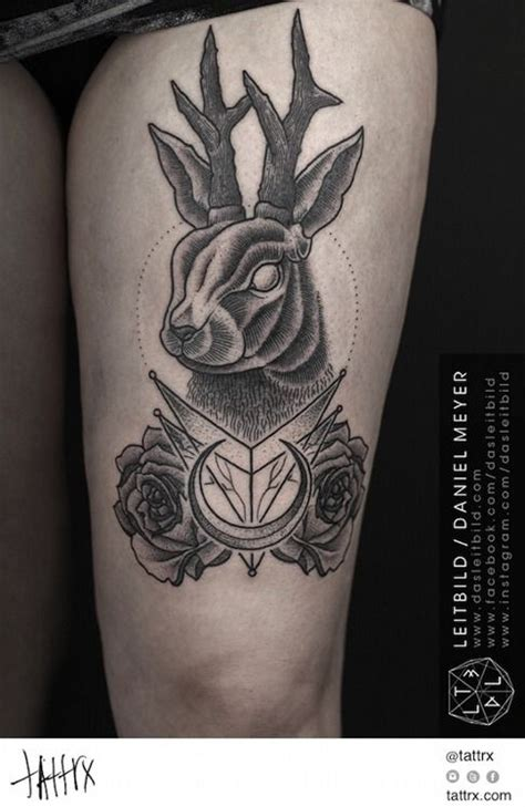 jackalope tattoo instagram 1000 images about jackalope tattoos on pinterest