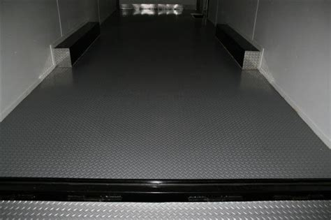 Trailer Flooring Seamless Coin / Diamond PVC Rolls