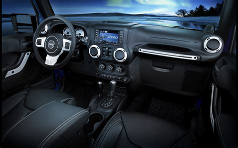 Jeep Wrangler Interior by 2014 Jeep Wrangler Polar Edition Interior 1 2560x1600 Wallpaper
