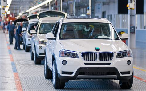 bmw factory assembly line bmw spartanburg south carolina assembly plant x3 line photo 6