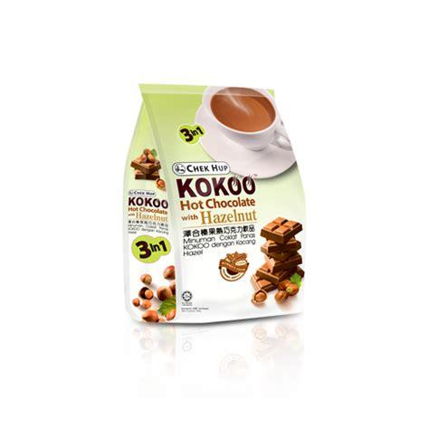 Kokoo Hazelnut chek hup kokoo chocolate with hazelnut sukanda djaya