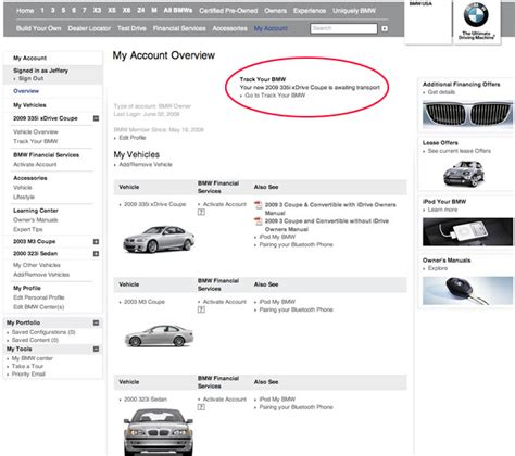 track your bmw how to follow a new bmw from order to shipping and to