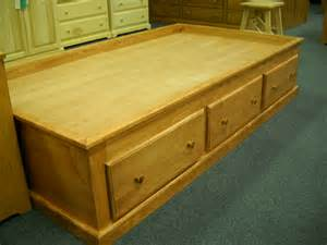 Pine Platform Bed With Drawers Shaker Furniture Of Maine 187 Pine Platform Storage Bed