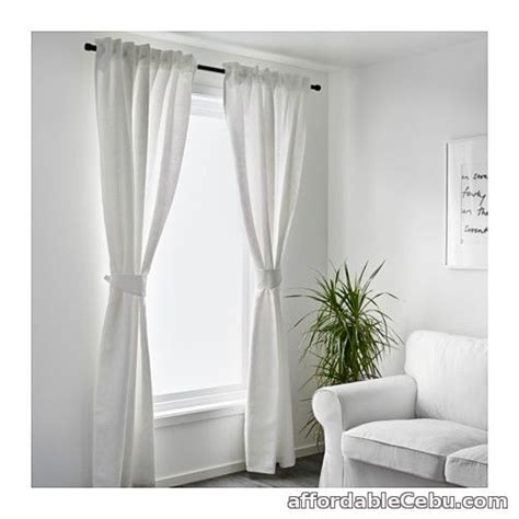 curtains for sale philippines blekviva curtains white product of sweden for sale