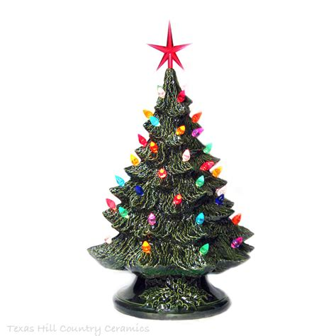celebrate holiday traditions with ceramic christmas trees 16