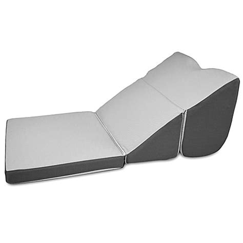 bed bath wedge pillow buy contour minimax multi position bed wedge pillow in