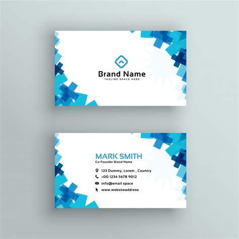 Id Cards Template Freepik by Business Card Vectors Photos And Psd Files Free
