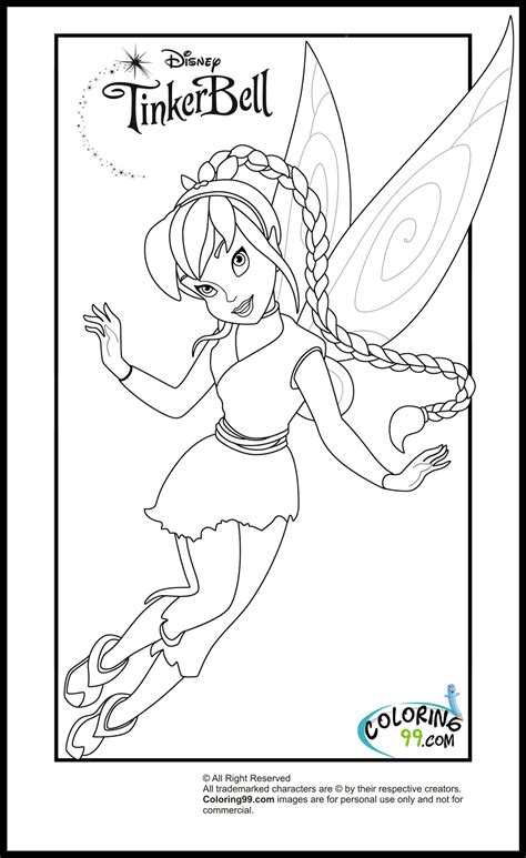 coloring pages disney tinkerbell and friends tinkerbell and friends coloring pages team colors