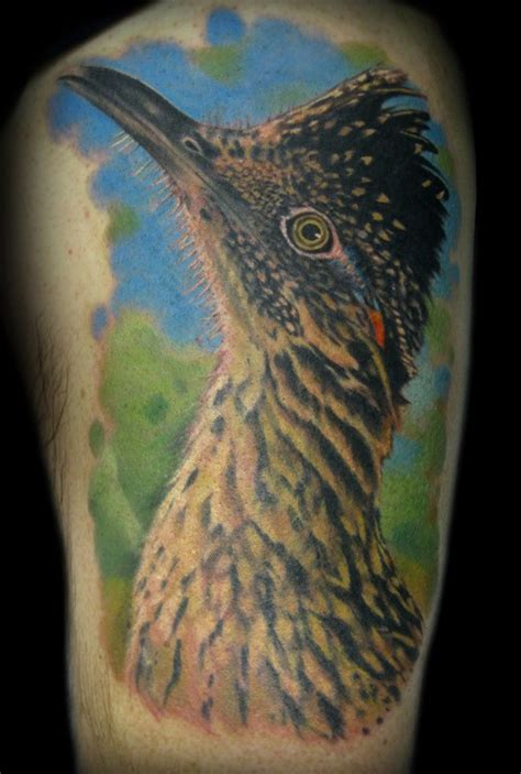 roadrunner tattoo paradise gathering tattoos tim senecal meep meep