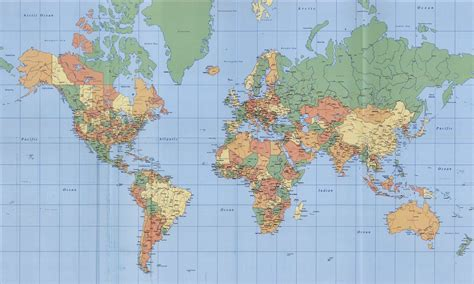 peta dunia lengkap images