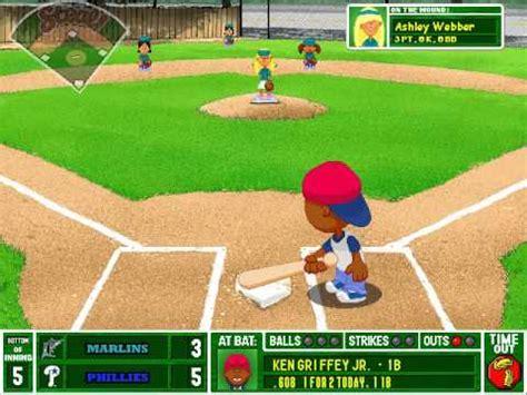 play backyard baseball 2003 let s play backyard baseball 2003 game 6 florida
