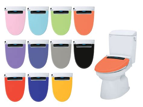 colored toilet seats inax toilet seat with multi colored covers