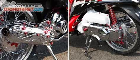 Roller Mio Jmio Gtfino Fi modifikasi yamaha mio fino fi barsaxx speed concept