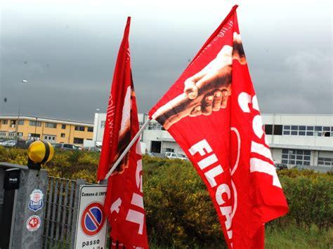 lettere di richiamo dipendenti sciopero alla coin service fabozzi filcams cgil