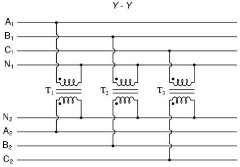 3 phase transformer connection diagram three phase transformer circuits polyphase ac circuits electronics textbook