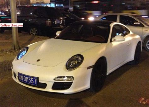 porsche matte white porsche 911 is matte white in china carnewschina com