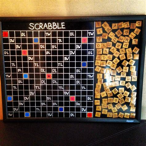 picture of a scrabble board magnetic scrabble board for the wall for the