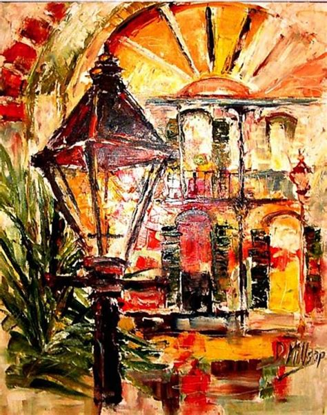 artist new orleans quarter visions sold by diane millsap from new