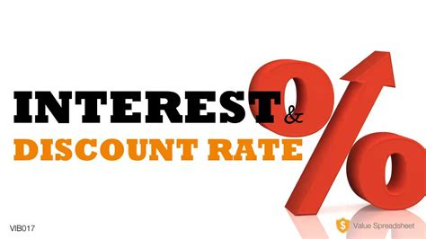 discount rates interest rate discount rate explained vib017