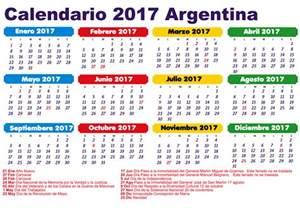 Calendario 2017 Dia A Dia Feriados 2017 Argentina Calendario 2017 Que Pasa