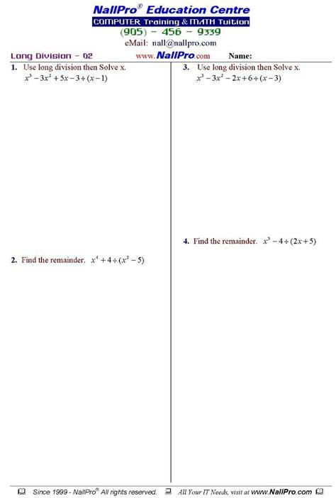 12th Grade Math Worksheets by Grade 12 Mathematics