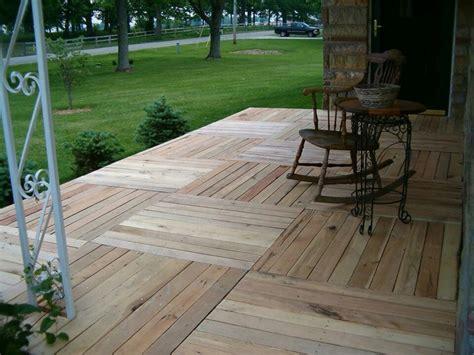 temporary deck pallet deck temporary back deck ideas