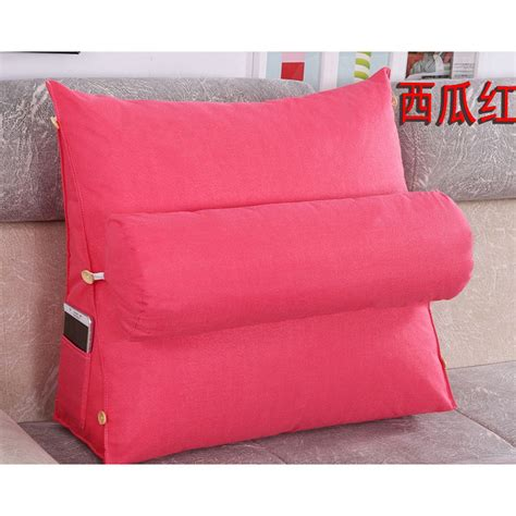 bed pillow chair adjustable sofa bed chair rest neck support back wedge