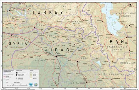 map of turkey and iraq turkey iraq reference map iraq reliefweb