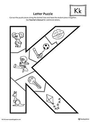 printable alphabet letter puzzles letter k puzzle printable myteachingstation com
