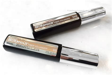 Maybelline Brow maybelline brow precise fiber volumizer mascara beautygeeks